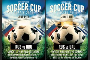 Football World Cup Flyer