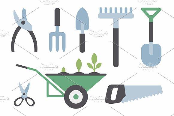 Gardening Instruments Pattern