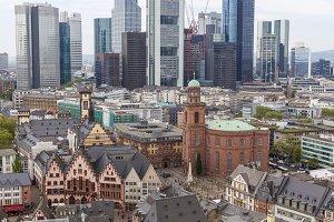 Frankfurt city view