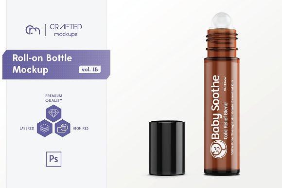 Roll-on Bottle Mockup V 1B
