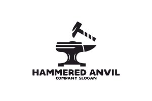Hammered Anvil Logo
