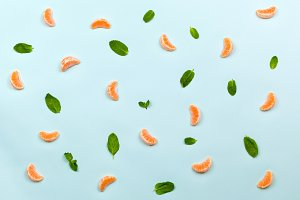 Healthy food fruits pattern
