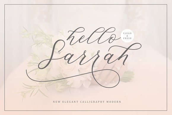 Hello Sarrah Script