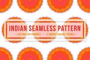 Indian Seamless Pattern