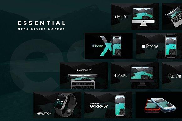 Download Essential - Premium Device Mockups