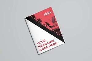 Modern Business Bifold Brochure