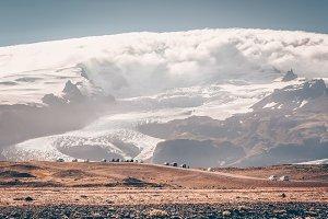Vatnajokull Glacier National Park,