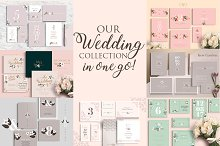 Wedding Collection: 7 sets-49 files by  in Invitations