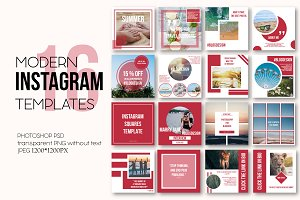 Instagram modern templates