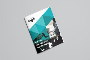 Abstract Business Bifold Brochure