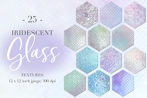 Iridescent Glass Textures
