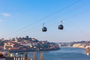 Cable Car in Porto, Portugal