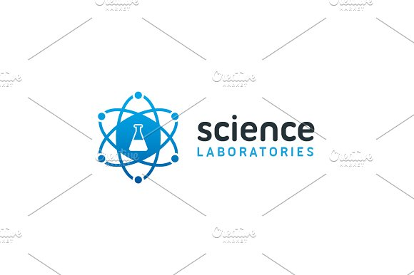 Science Laboratories Lab Logo