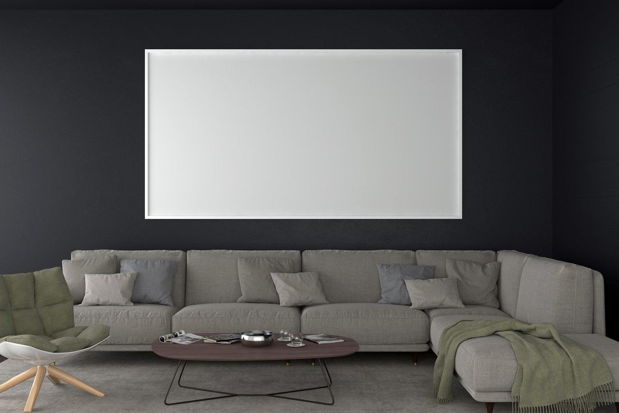 Empty Living room background - Architecture Photos ...
