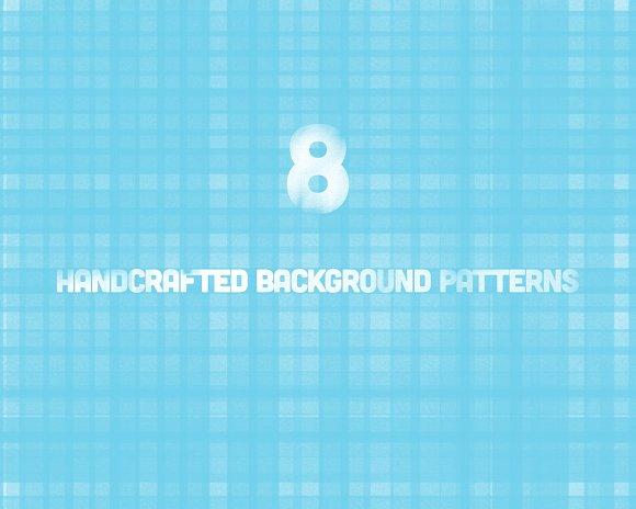 8 Handcrafted Background Textures