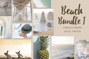 Beach-Themed Stock Photo Bundle I