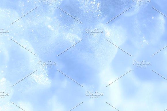White Foam Plastic Texture