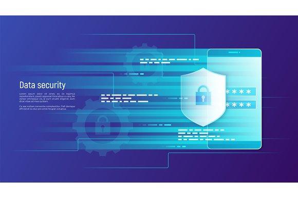 Data Security Information Protection Access Control Vector Con