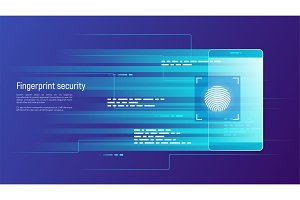 Fingerprint security, access control, authorization and identifi