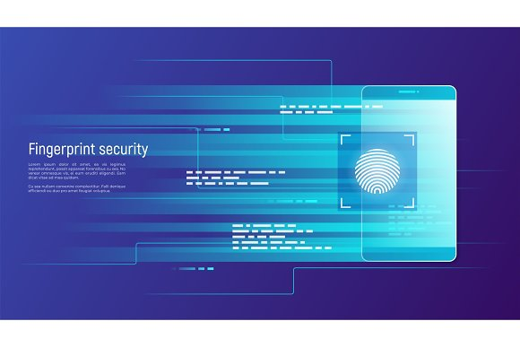 Fingerprint Security Access Control Authorization And Identifi