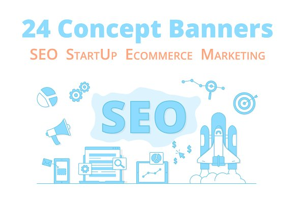 24 Business Concept Banners