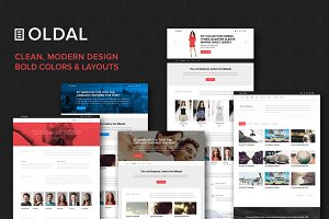 Oldal | Creative Website PSD