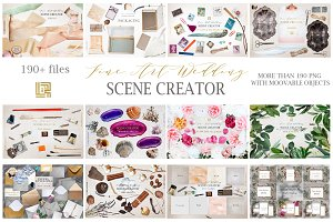 Wedding Scene creator BUNDLE