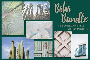 Bohemian Stock Photo Bundle I
