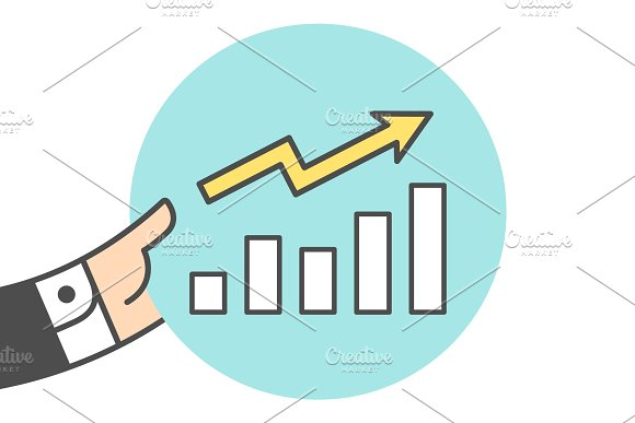 Icon Of Growth Chart