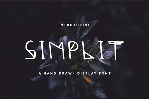 Simplicitic Font For Header