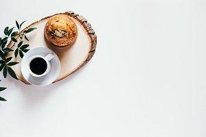 Pastry, Coffee & Plant