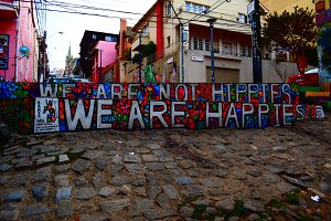 We are not hippies, we are happies