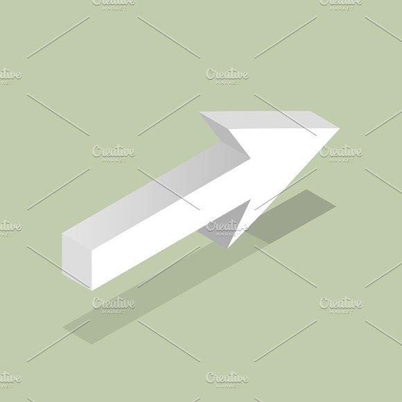 Vector Icon Of Arrow