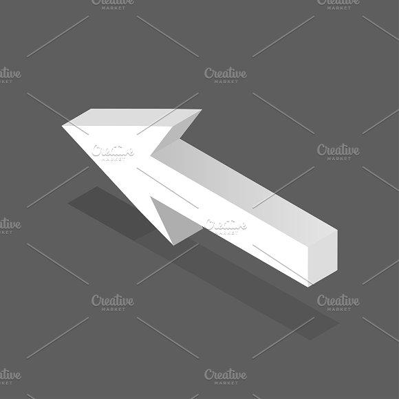 Vector Of Arrow Sign