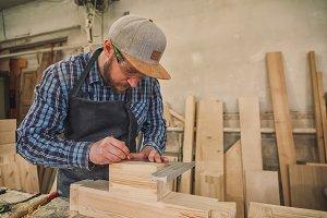 Experienced carpenter work