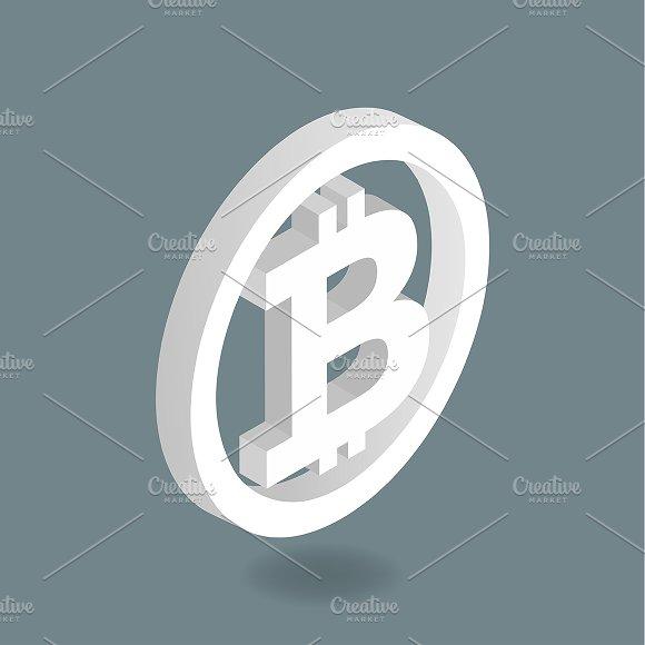 Vector Of Bitcoin Icon