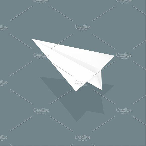 Vector Of Paper Plane Icon