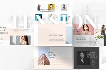 Tension Creative Keynote Template by  in Presentations