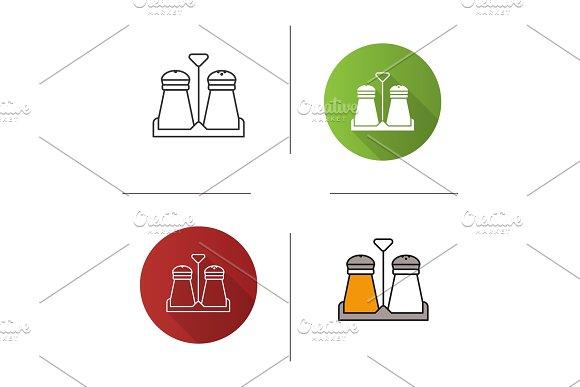 Salt Or Pepper Shaker Icon