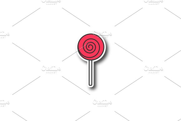 Spiral Lollipop Patch