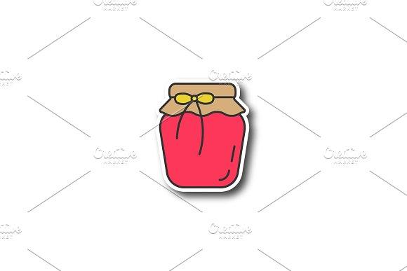 Strawberry Jam Jar Patch