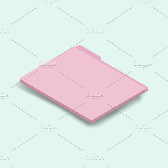 Vector Image Of Folder