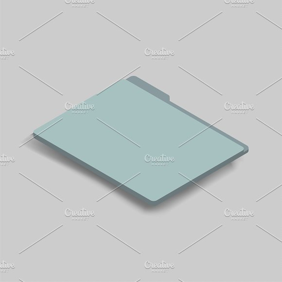 Vector Icon Of Folder