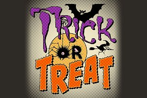 Trick or Treat dingbats