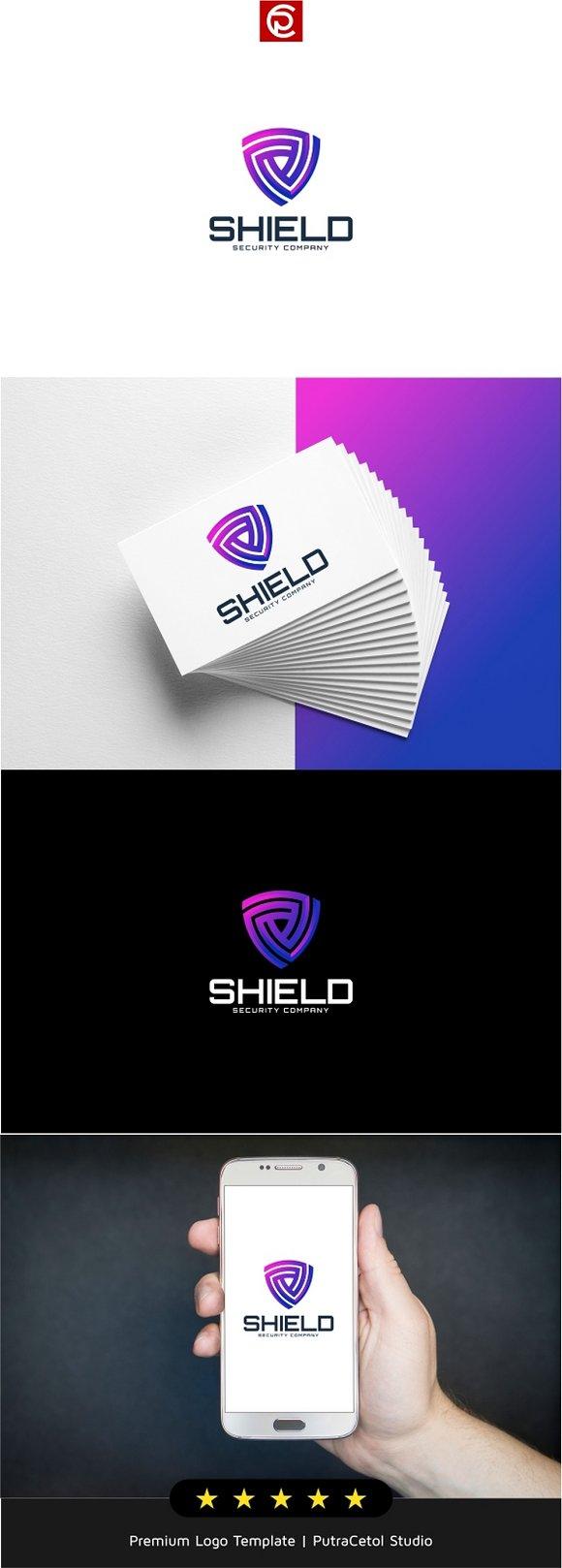 Digital Shield Logo