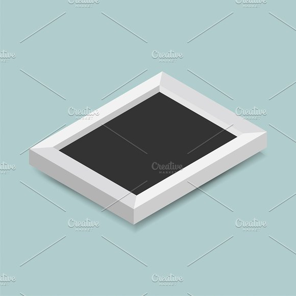 Vector Illustration Of Photo Frame
