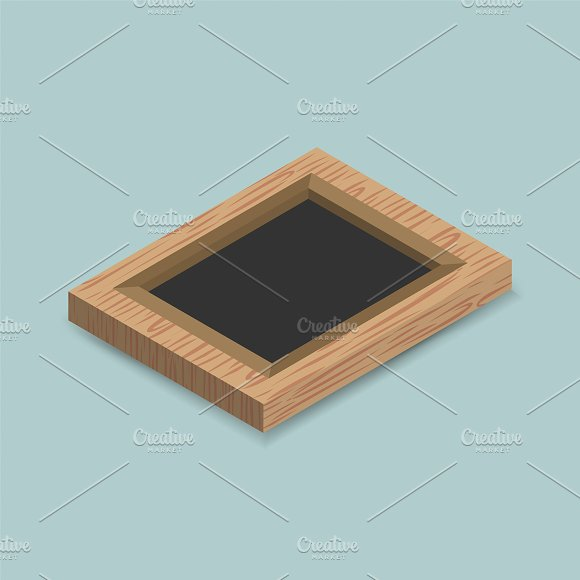 Vector Of Photo Frame Icon