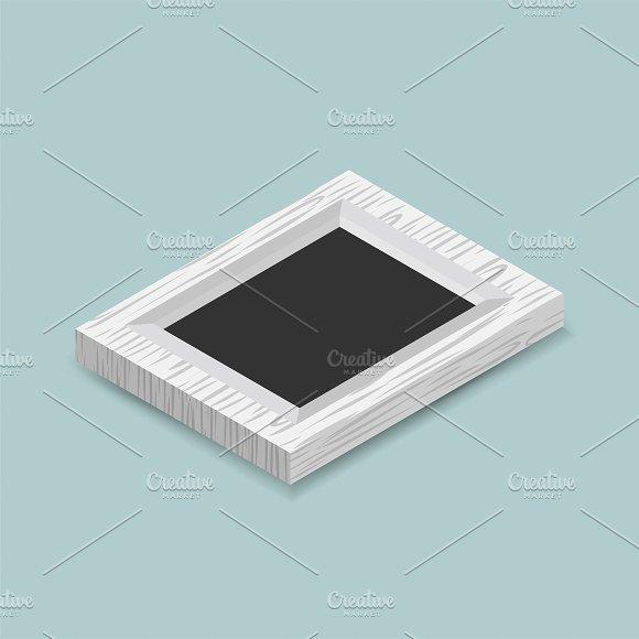 Vector Of Photo Frame Icon