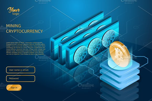 Process Of Mining The Bitcoin Cryptocurrency Blockchain Technology