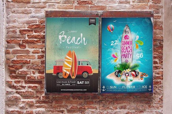 Poster Mockup In Venecia 2